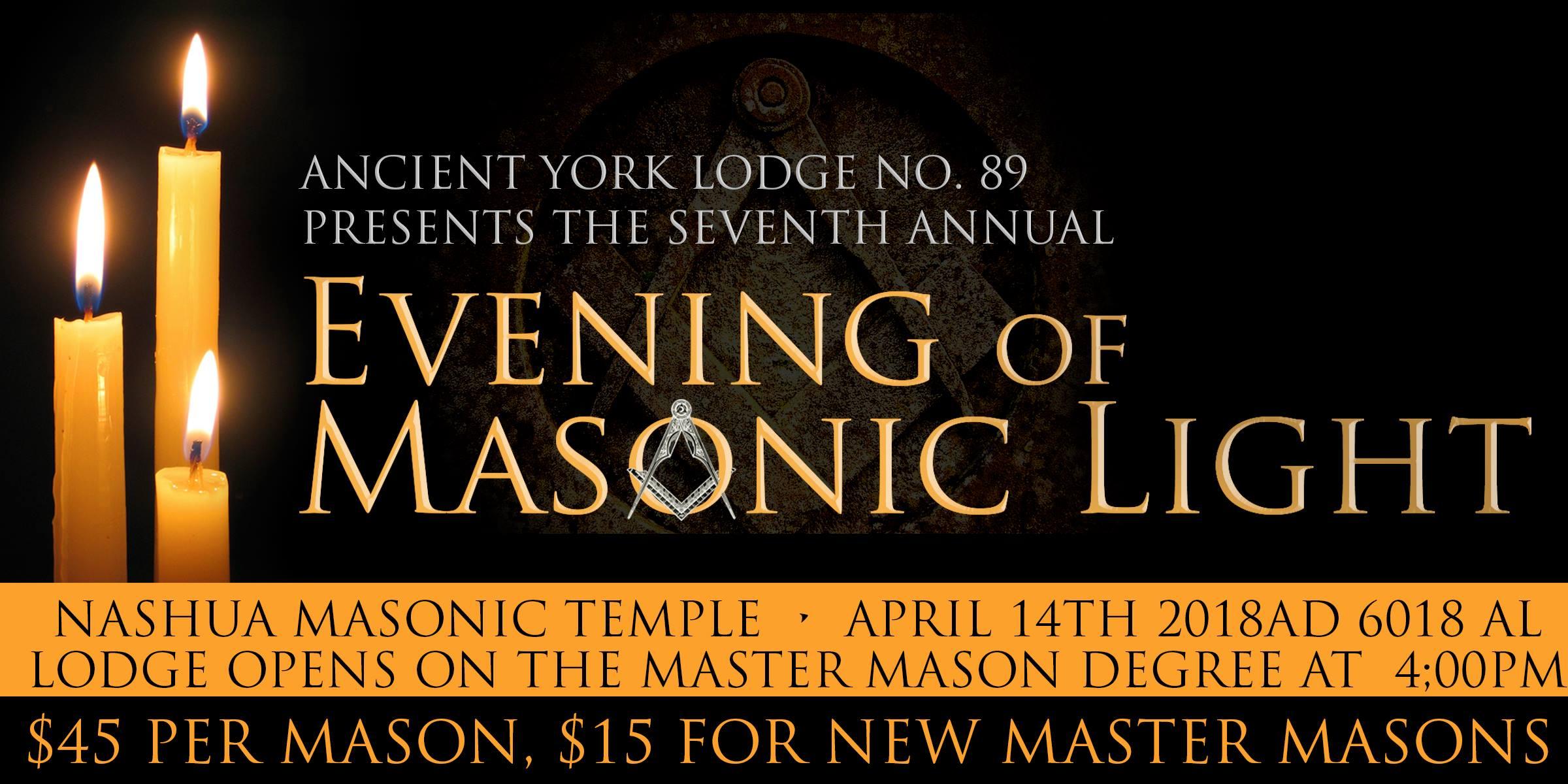 AYL 7th Annual Evening of Masonic Light