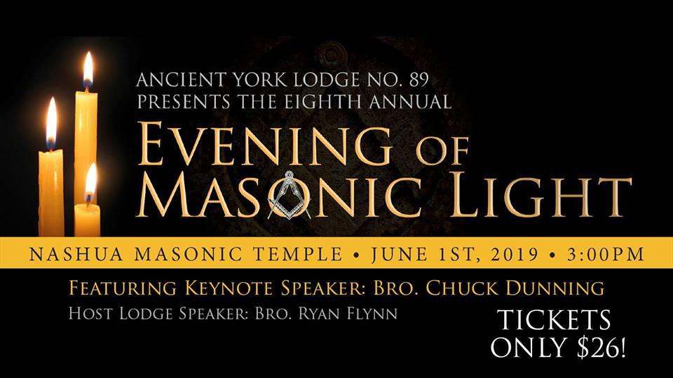 Evening of Masonic Light Ancient York Lodge